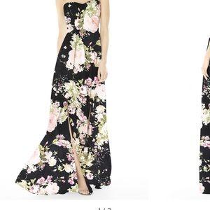 Long evening gown dress